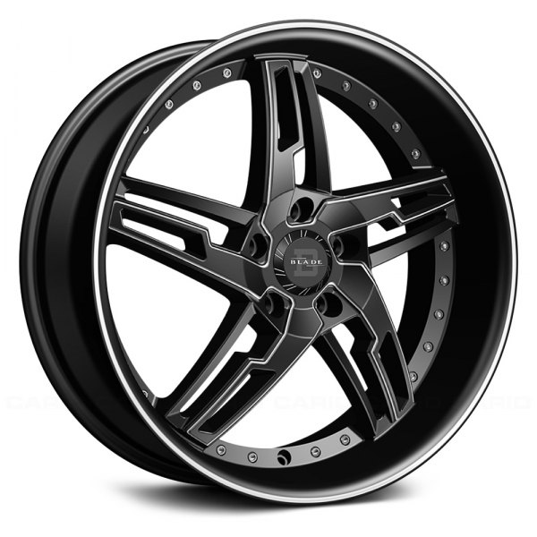BLADE® BSL-475 MARCELLO Wheels - Matte Black Rims