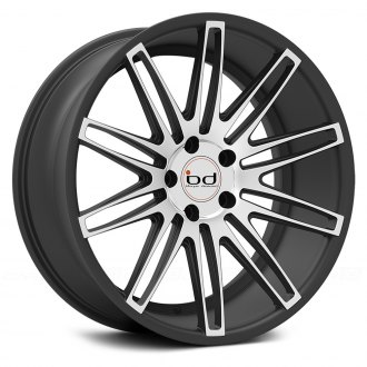 BLAQUE DIAMOND® - BD-2 Matte Graphite with Machined Face