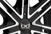 BLAQUE DIAMOND® - BD-7 Black with Machined Face Close-Up