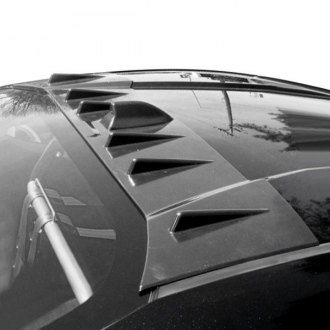 Blox Racing® - Custom Style Racing Vortex Generator Blades with Shark Fin Style (Unpainted)