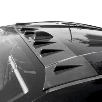 Blox Racing® - Custom Style Racing Vortex Generator Fins with Shark Fin Style (Unpainted)