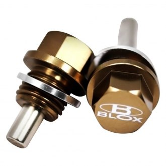 Blox Racing® - Magnetic Oil and Transmission Drain Plug Set