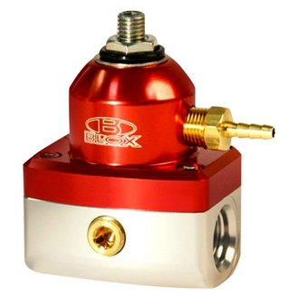Blox Racing® - 3-Port Adjustable Fuel Pressure Regulator