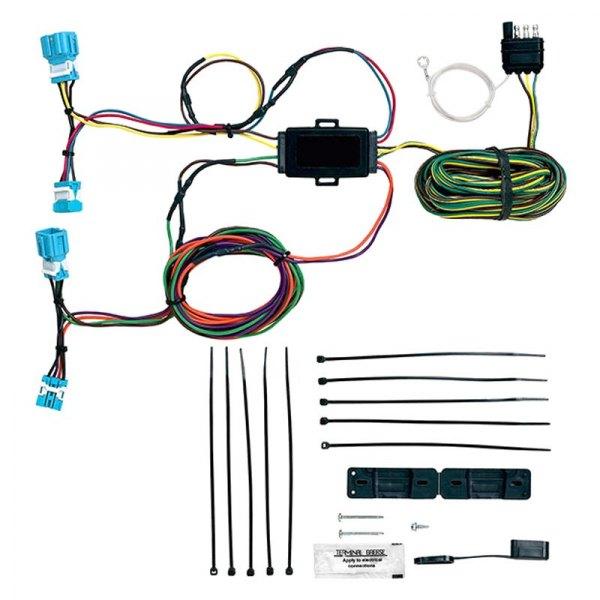 Blue Ox® BX88281 - EZ Light Wiring HarnessCARiD.com