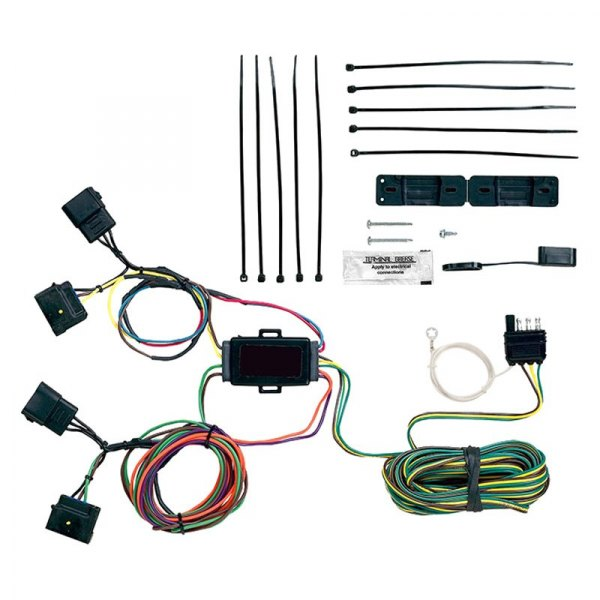 blue light wiring harness protege fog light wiring harness blue ox® bx88287 - ez light wiring harness