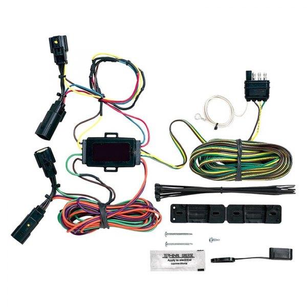 blue light wiring harness blue ox® bx88323 - ez light wiring harness