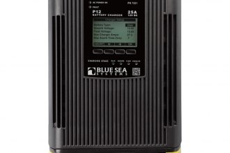 Blue Sea Systems® - P12 Battery Charger 25Amp Three Bank 12V