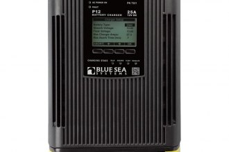 Blue Sea Systems® - P12 Battery Charger 40 Amp Three Bank 12V