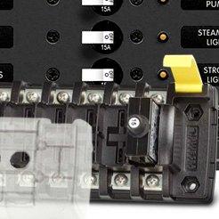 5050 Blue Sea 5050 St Clb Circuit Breaker Block 6 Position