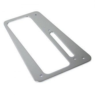 B&M® - Chrome Plastic Boot Plate for MegaShifter Console
