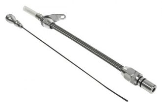 B&M® - Aluminum Braided Locking Dipstick