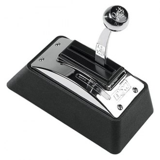 B&M® - Black and Chrome Quicksilver Automatic Shifter