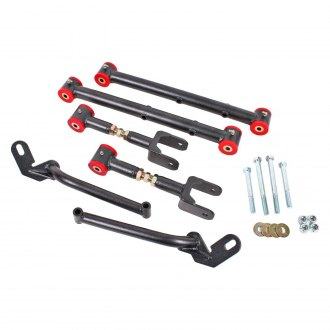 BMR Suspension® - Adjustable Rear Control Arm Kit With Polyurethane Bushings