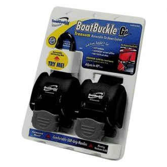 "Boat Buckle® - 2-Pc 43"" G2 Retractable Transom Tie-Downs"