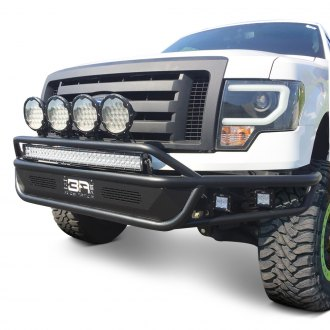 Body Armor® - Desert Series Full Width Front HD Bumper with Hoop