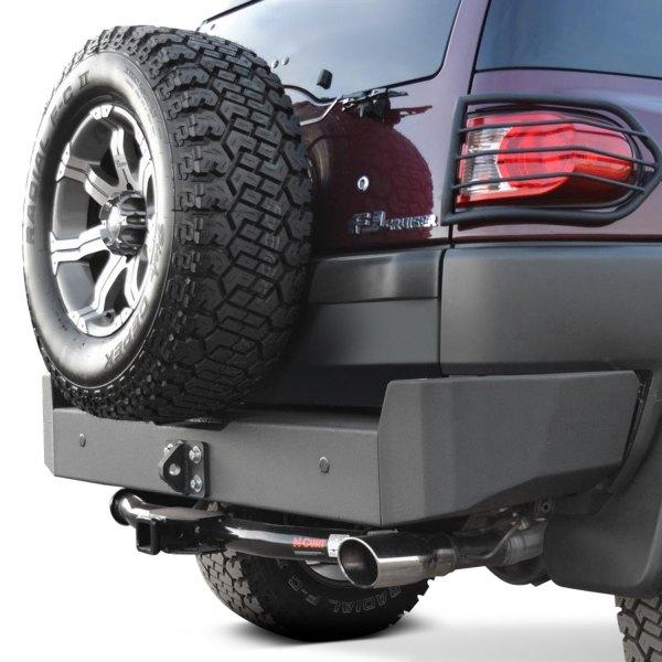 Toyota Fj Cruiser Rear Bumper : Body armor toyota fj cruiser full width black rear