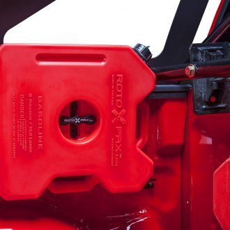 Body Armor® - Bed Cap Mounted Roto-Pax Can Holders