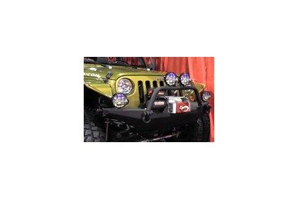 "Raptor Series 0701-0323B Black Cab Length 4/"" Side Steps for Colorado Extended"