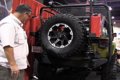 5294 - Body Armor ® Swing Arm Tire Carrier Video