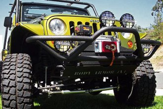 Body Armor® - Tubular Front Winch Bumper