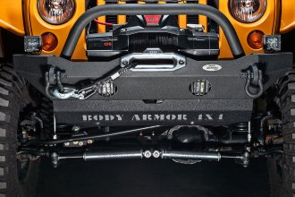 Body Armor® - Mid-Stubby Style Front Winch Bumper