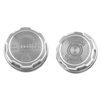 Boomba Racing® - Brake Fluid Reservoir/Coolant Tank Reservoir Cap Covers