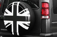 Boomerang® British Flag Tire Cover