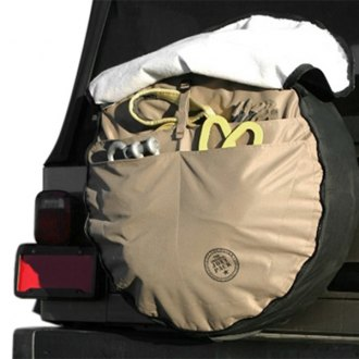 Boomerang® - Joey Pack Cargo Black/Tan Spare Tire Cover