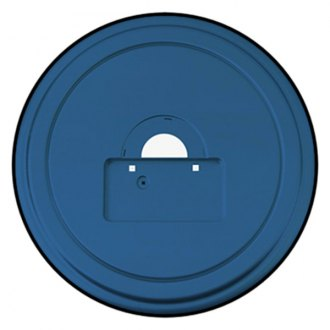 "Boomerang® - 35"" MasterSeries™ All Terrain Blue Spare Tire Cover with Black Powder Coated SS Ring"