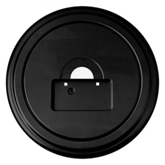 "Boomerang® - 35"" MasterSeries™ Black Spare Tire Cover with Black Powder Coated SS Ring"