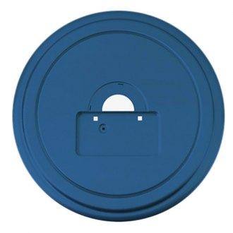 "Boomerang® - 35"" MasterSeries™ All Terrain Blue Spare Tire Cover with Painted to Match SS Ring"