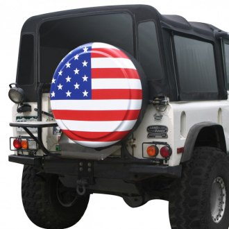 Boomerang® - Rigid Series™ American Flag Spare Tire Cover