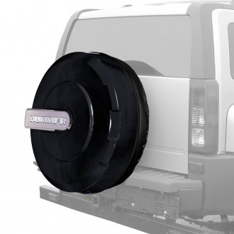"Boomerang® - 33"" Xtreme Series Black Spare Tire Cover"