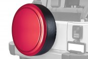 "Boomerang® - Rigid Series Deep Cherry Red Tire Cover w/o Oscar Mike Logo (30"")"