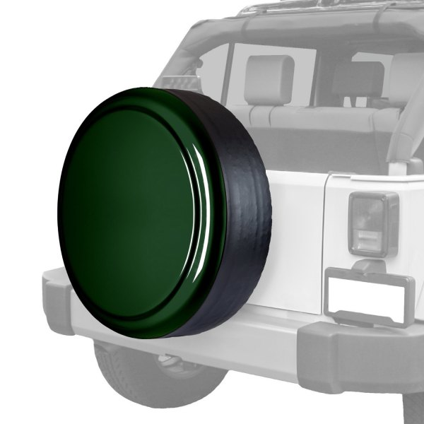 "Boomerang® - Rigid Series Natural Green Pearl Tire Cover w/o Oscar Mike Logo (30"")"