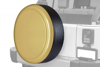 "Boomerang® - Rigid Series Sahara Tan Tire Cover w/o Oscar Mike Logo (32"")"