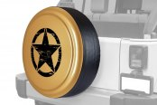 "Boomerang® - Rigid Series Dune Tire Cover with Oscar Mike Logo (32"")"