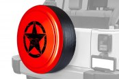 "Boomerang® - Rigid Series Rock Lobster Tire Cover with Oscar Mike Logo (32"")"