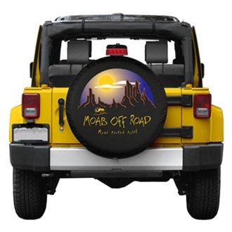 Boomerang® - Soft Series Moab Off-Road Black Spare Tire Cover