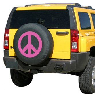 Boomerang® - Soft Series Peace Sign Tire Cover