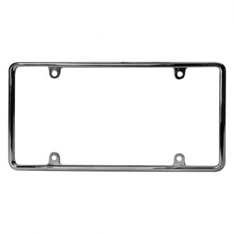 Bores® - Chrome License Plate Frame