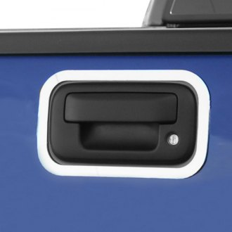 Bores® - Standard Style Polished Tailgate Handle Bezels