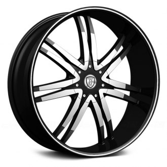 BORGHINI® - B14-M Black with Machined Face and Stripe