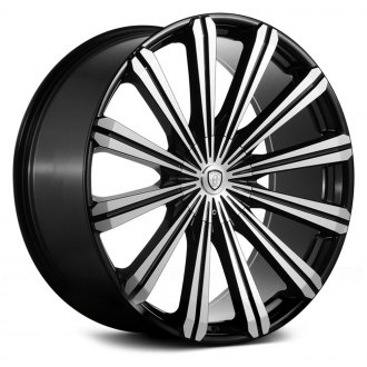 BORGHINI® - B18 Black with Machined Face