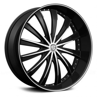 BORGHINI® - B19 Black with Machined Face
