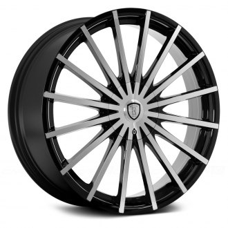 BORGHINI® - B22-M Black with Machined Face
