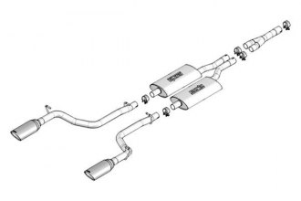 Borla® - S-Type™ Cat-Back Exhaust System