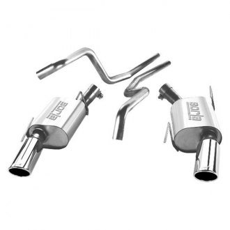 Borla® - Touring™ Single Exhaust System with Single Split Rear Exit
