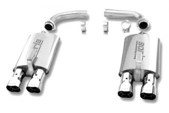 Borla® - Touring™ Stainless Steel Rear Section Exhaust System