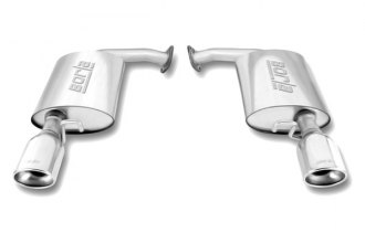 Borla® - Stainless Steel Rear Section Exhaust System